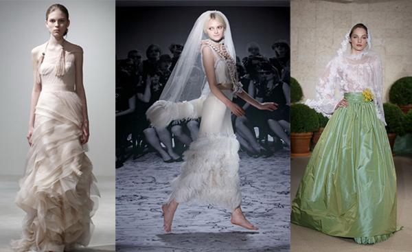 Свадебные платья 2011 года