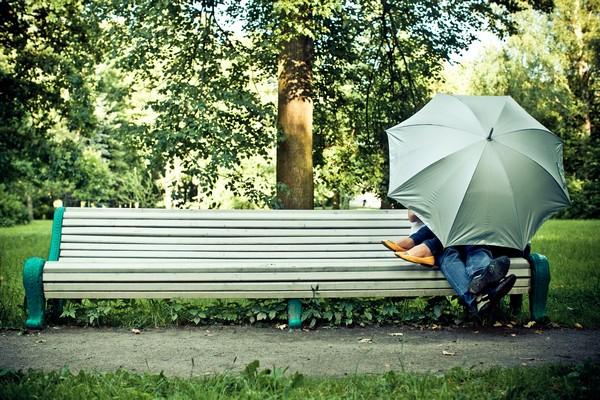 фотографии с зонтиком