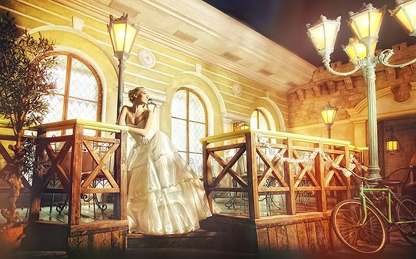 красивый интерьер для свадьбы