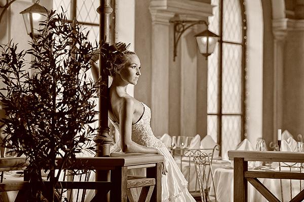 свадебное фото чб