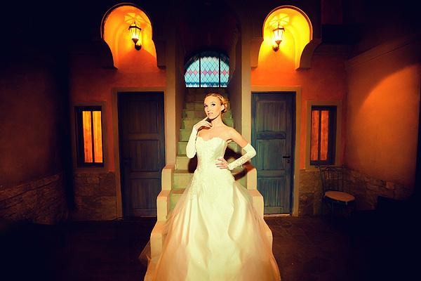 романтичное место для свадебного фото