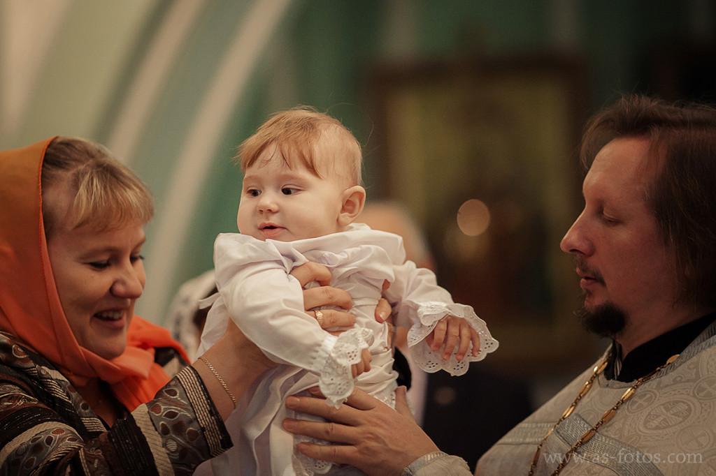 крещение первенца