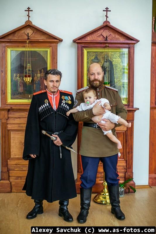 крещение казаки