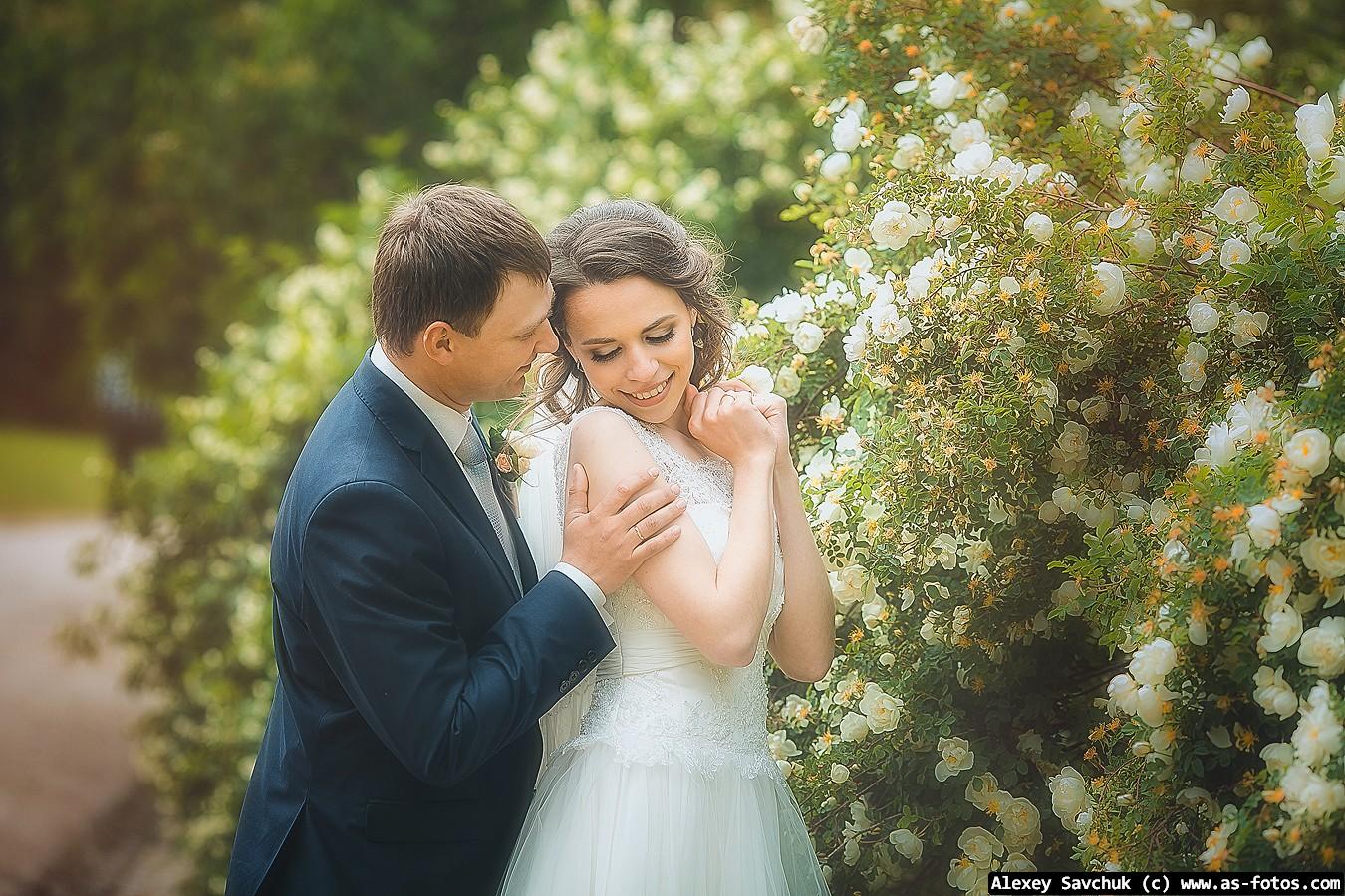Красивые свадебные фотосесии