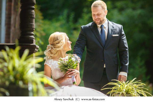 Свадьба в городе Пушкин