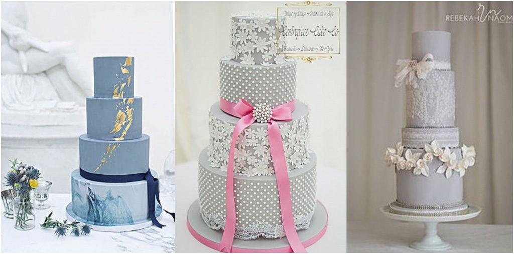 Свадебный торт - модные тренды 2018 Рюши и оборки на свадебном торте