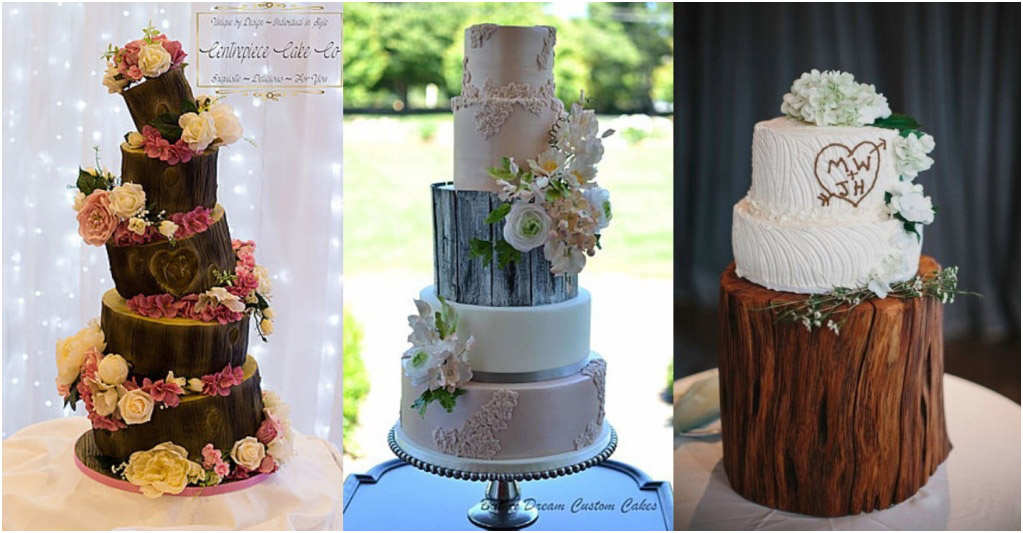 Свадебный торт - модные тренды 2018 Торт в стиле Бохо