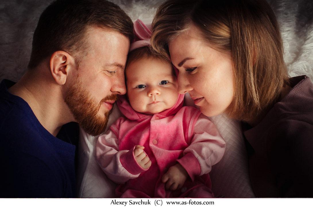Семейный фотосет Кати и Никиты